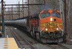 BNSF 5460 leads CSX K144